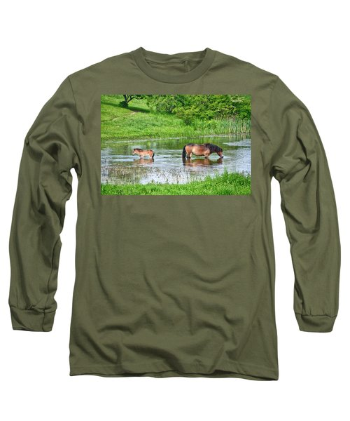 In The Puddle 1 Long Sleeve T-Shirt