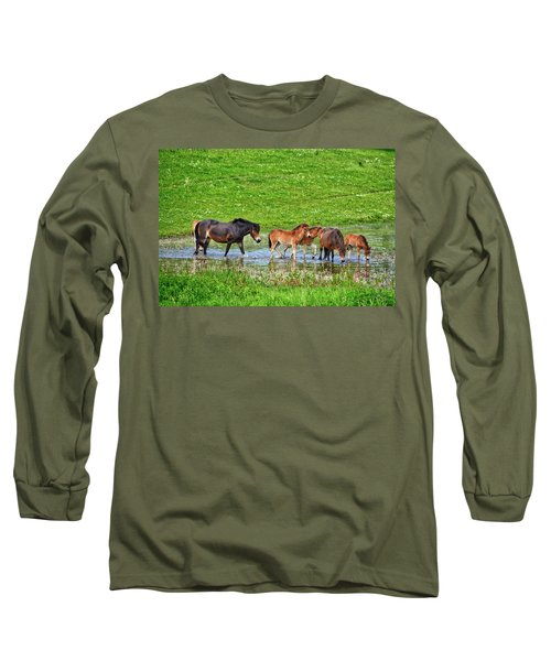 In The Puddle 2 Long Sleeve T-Shirt