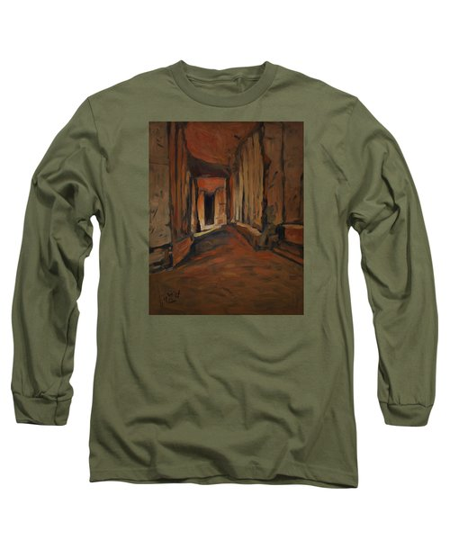 l'Origine de Maestricht Sint Pieter Maastricht  Long Sleeve T-Shirt by Nop Briex