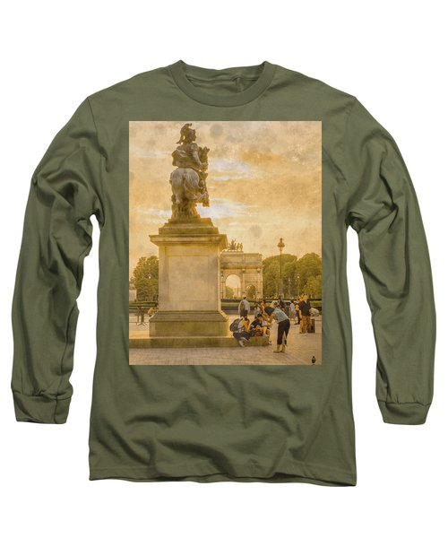 Paris, France - In The Shadow Of Glory Long Sleeve T-Shirt