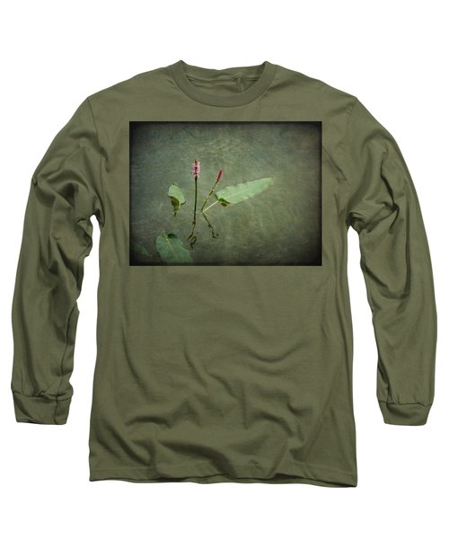 In The Stillness... Love Whispers My Name Long Sleeve T-Shirt