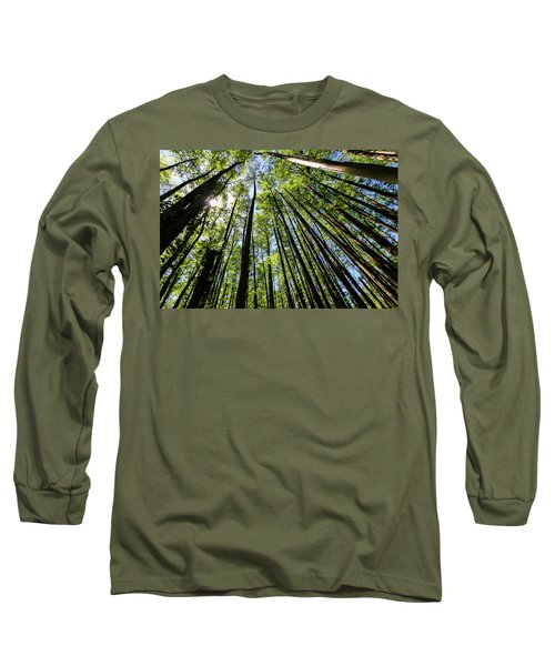 In The Swamp Long Sleeve T-Shirt by Menachem Ganon