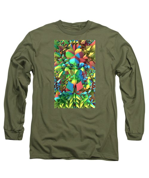 Long Sleeve T-Shirt featuring the digital art In The Tropics by Lyle Hatch