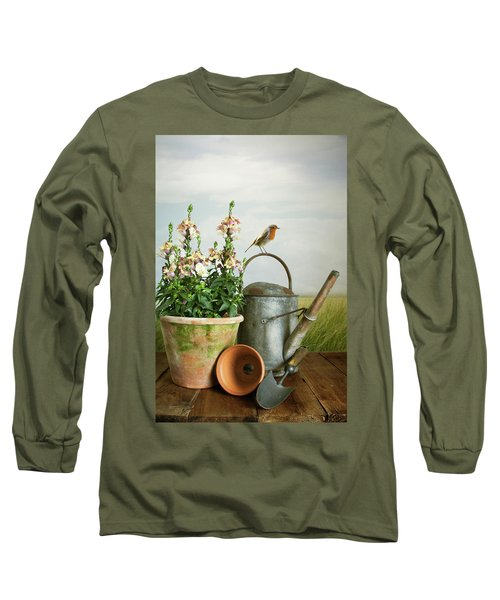 In The Vintage Garden Long Sleeve T-Shirt