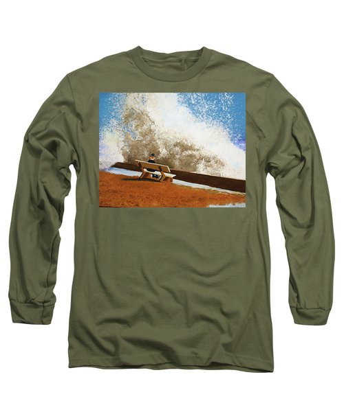 Incoming Long Sleeve T-Shirt by Thomas Blood