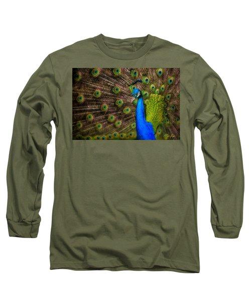 India Blue Long Sleeve T-Shirt