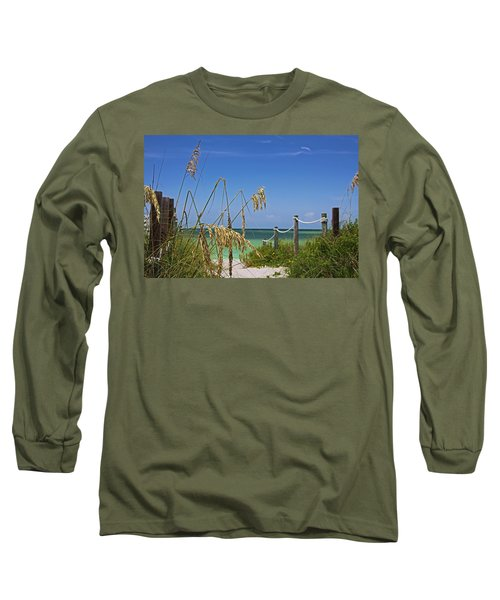 Long Sleeve T-Shirt featuring the photograph Indulging In Memories by Michiale Schneider