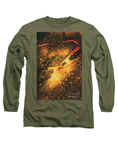 Industrial Jump Start Long Sleeve T-Shirt