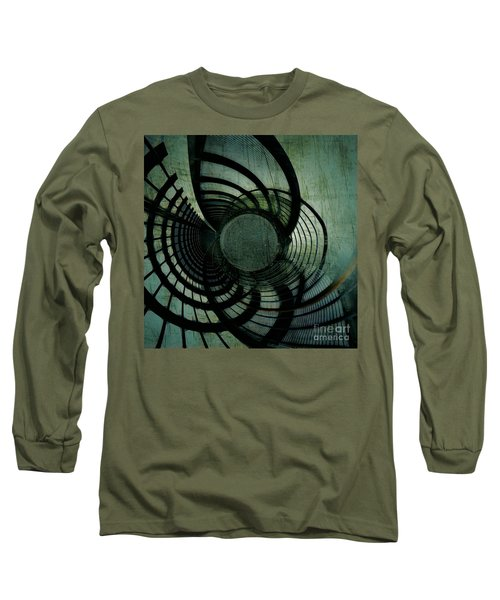 Industrial Overpass Grey Long Sleeve T-Shirt