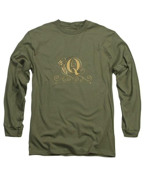 Initial Q Long Sleeve T-Shirt
