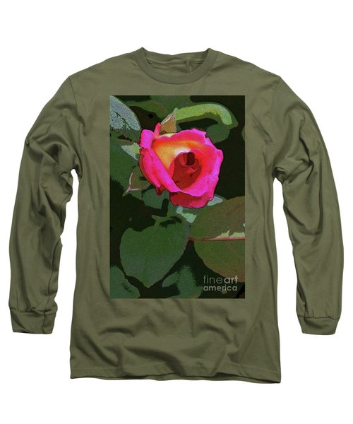 Inner Rose Long Sleeve T-Shirt by Craig Wood