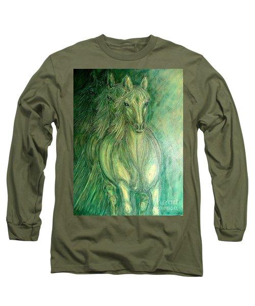 Inner Spirit Long Sleeve T-Shirt by Kim Jones