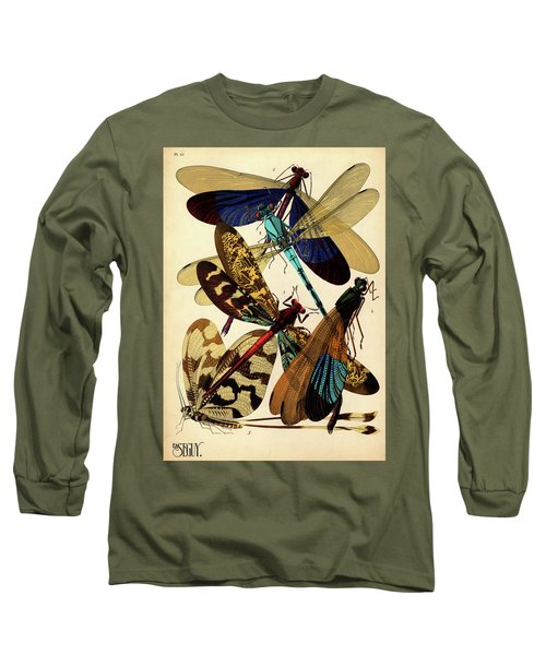 Insects, Plate-10 Long Sleeve T-Shirt