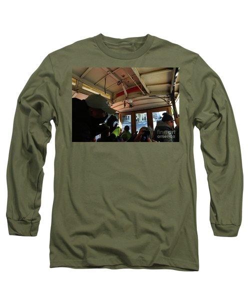 Inside A Cable Car Long Sleeve T-Shirt