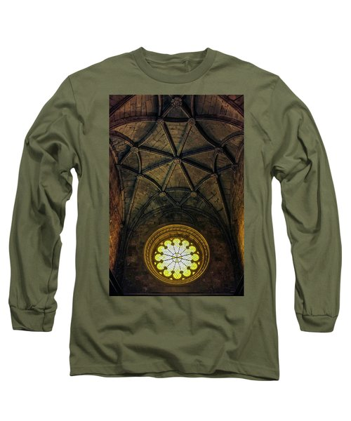 Long Sleeve T-Shirt featuring the photograph Inside Jeronimos by Carlos Caetano