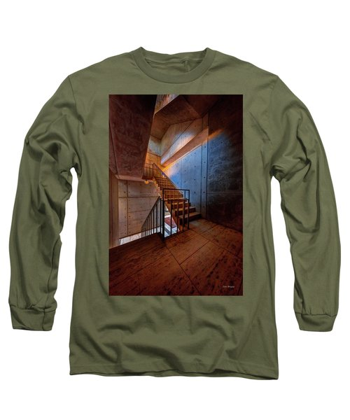 Inside The Stairwell Long Sleeve T-Shirt