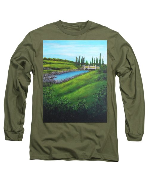 Inspiration In Mountain House Long Sleeve T-Shirt