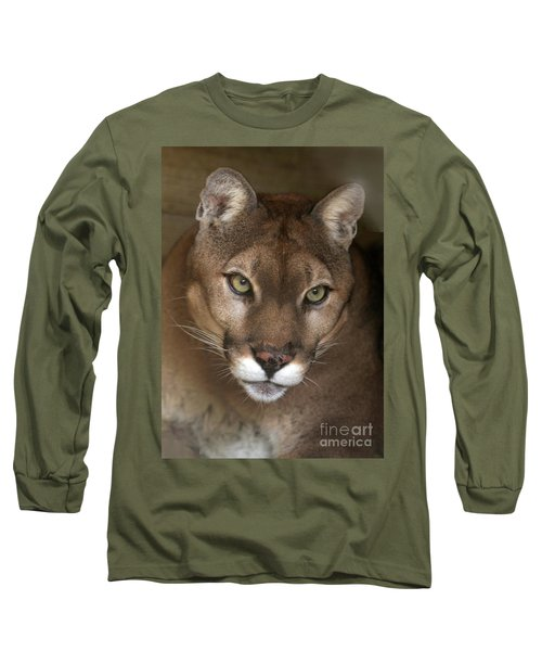 Intense Cougar Long Sleeve T-Shirt