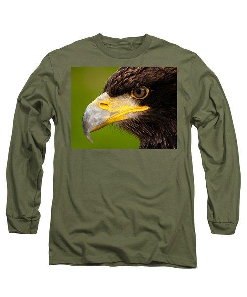 Intense Gaze Of A Golden Eagle Long Sleeve T-Shirt