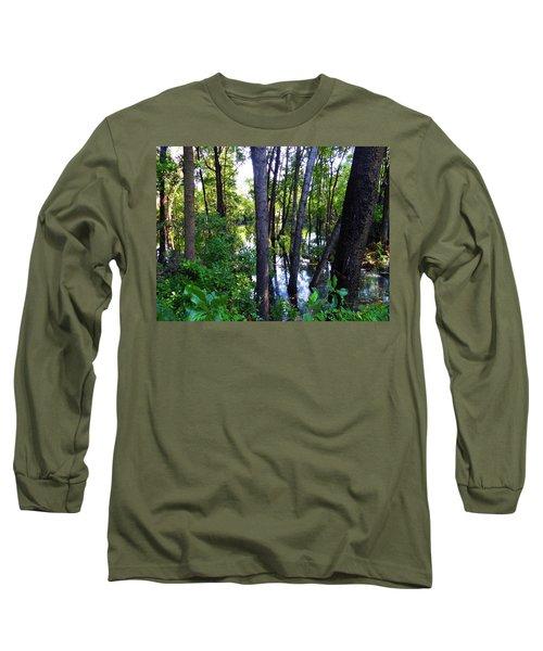 Interior Lake Chale Island Long Sleeve T-Shirt