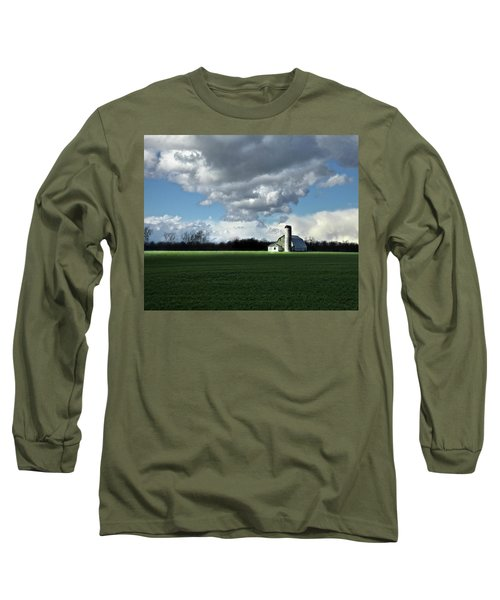 Long Sleeve T-Shirt featuring the photograph Interlude by Robert Geary