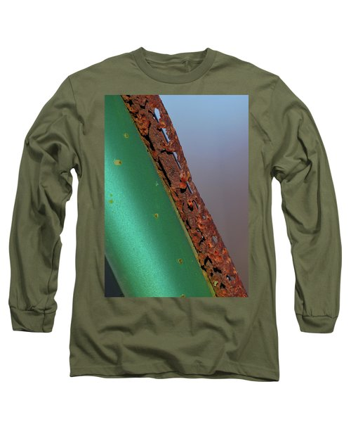 Long Sleeve T-Shirt featuring the photograph International Green by Susan Capuano