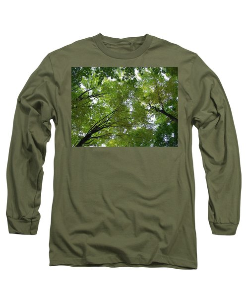 Long Sleeve T-Shirt featuring the photograph Into The Trees by Michael  TMAD Finney