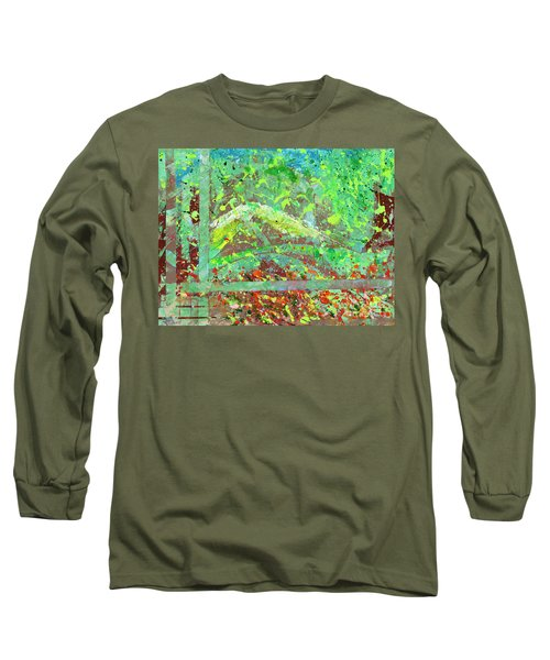 Into The Woods-through The Looking Glass Long Sleeve T-Shirt