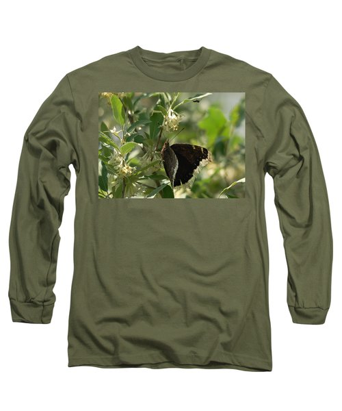Long Sleeve T-Shirt featuring the photograph Invasion Of Space by Susan Capuano