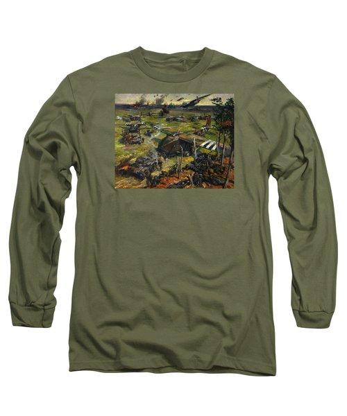 Invasion Scene Long Sleeve T-Shirt