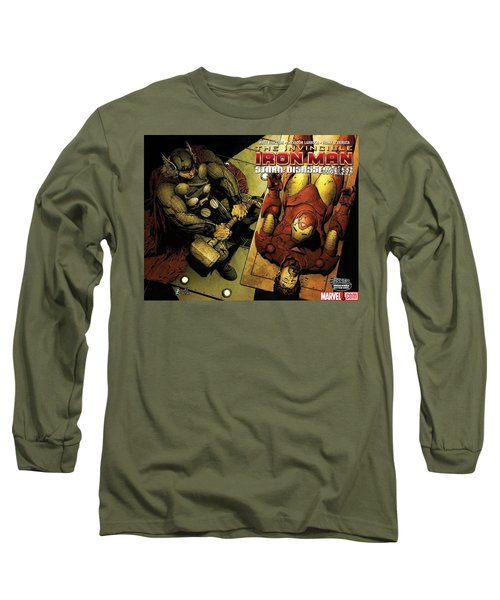Invincible Iron Man Long Sleeve T-Shirt