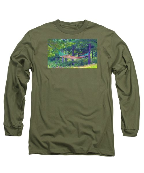 Long Sleeve T-Shirt featuring the photograph Invitation Only by Susan Crossman Buscho