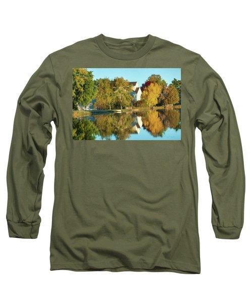 Iola Mill Fall View Long Sleeve T-Shirt