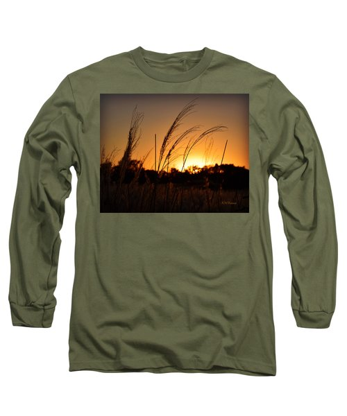 Iowa Prairie Sunset Long Sleeve T-Shirt