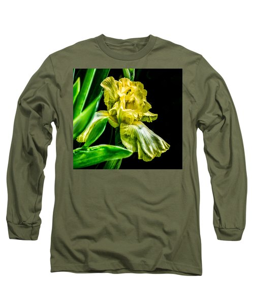 Iris In Bloom Long Sleeve T-Shirt