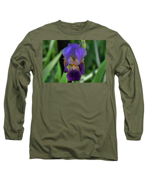 Iris Purple 2 Long Sleeve T-Shirt