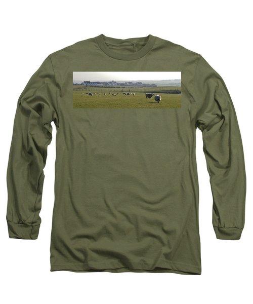 Irish Sheep Farm I Long Sleeve T-Shirt