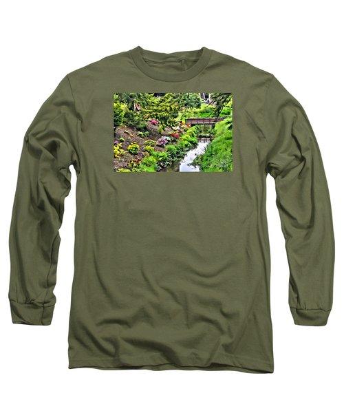 Irish Summer Stream Long Sleeve T-Shirt
