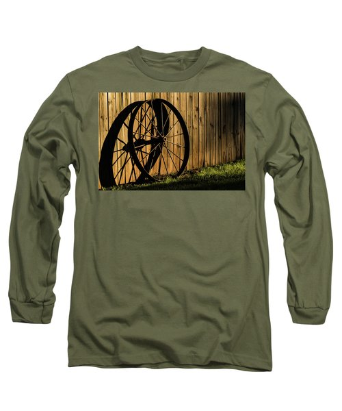 Iron Wheel Long Sleeve T-Shirt