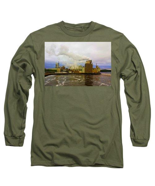 Irving Pulp Mill #3 Long Sleeve T-Shirt