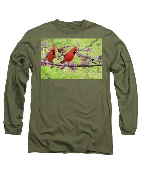 Long Sleeve T-Shirt featuring the photograph Is It Spring Yet? by Bonnie Barry