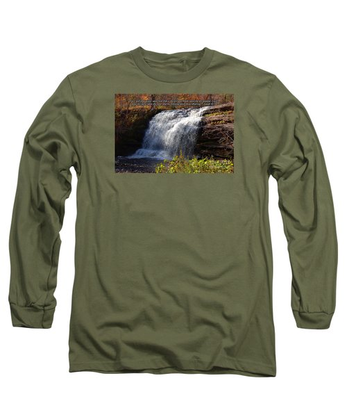 Long Sleeve T-Shirt featuring the photograph Isaiah 44 by Diane E Berry