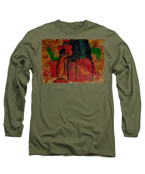 Isis, Egyption Queen Of Earth Long Sleeve T-Shirt