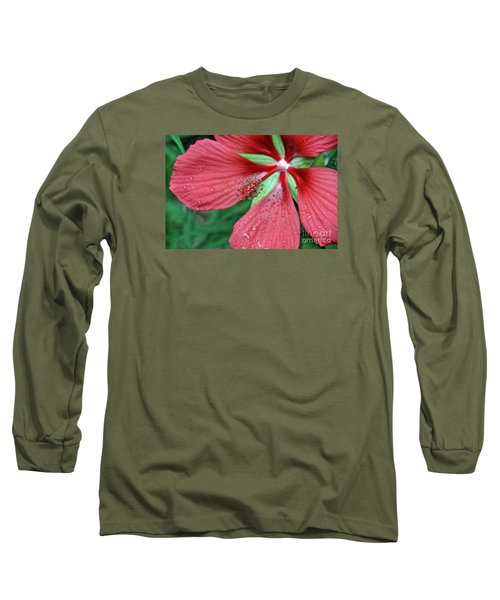 Long Sleeve T-Shirt featuring the photograph Island Red by Gina Savage