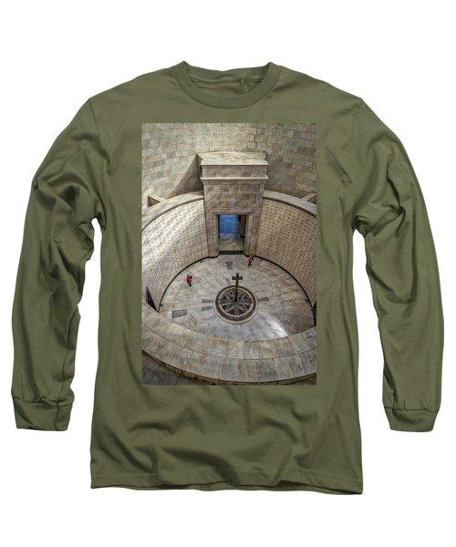 Long Sleeve T-Shirt featuring the photograph Italian World War One Shrine #3 by Stuart Litoff
