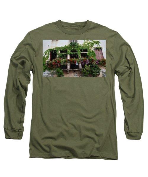 Italy Veneto Marostica Main Square Long Sleeve T-Shirt