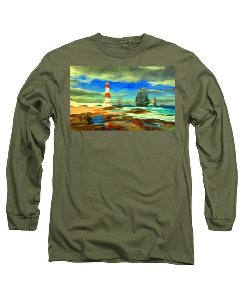 Itapua Lighthouse 1 Long Sleeve T-Shirt