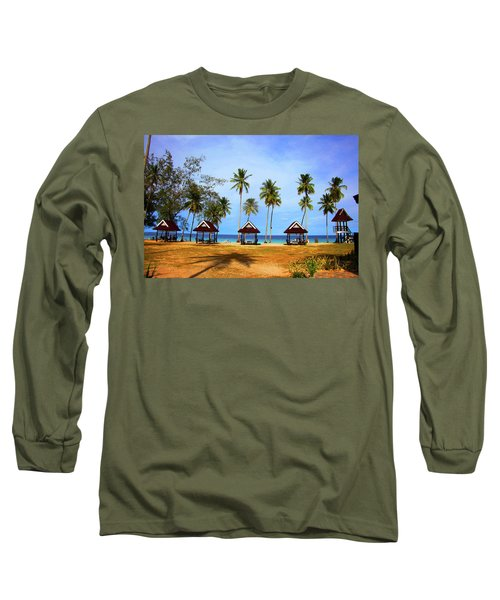 It's Real And Close Long Sleeve T-Shirt by Jez C Self