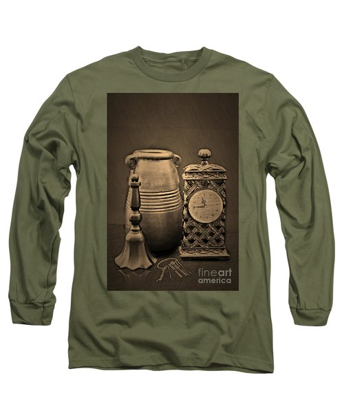 It's Time For... Long Sleeve T-Shirt by Sherry Hallemeier