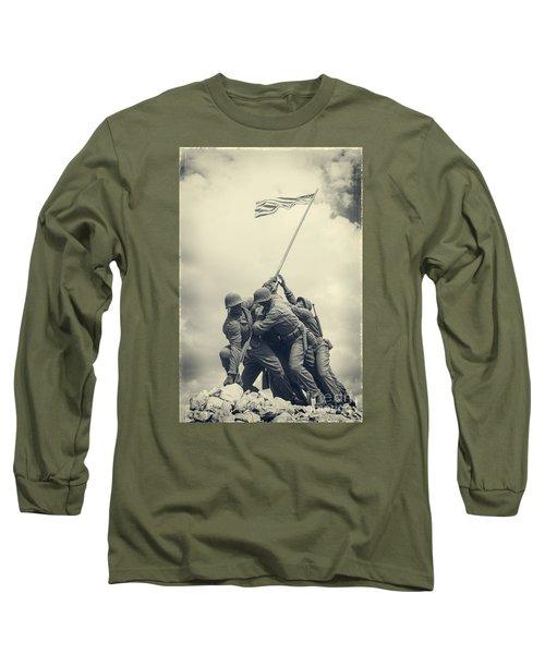 Iwo Jima Monument Long Sleeve T-Shirt